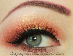 EyeGraffiti #copper #goldilux #eyes
