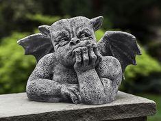 Grumblethrope cast stone gargoyle statue made by Campania International
