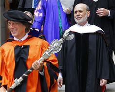 Princeton University 2013 commencement- Ben Bernanke's surprisingly excellent, radical speech Janet Yellen, Princeton University, How To Stay Motivated