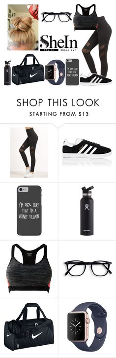 """""""Untitled #376"""" by ines-321 ❤ liked on Polyvore featuring adidas, Disney, Hydro Flask, MANGO and NIKE"""