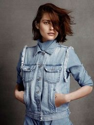 Cute crop on Catherine McNeil.
