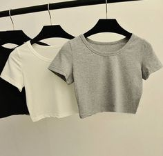 Cute Lazy Outfits, Summer Outfits For Teens, Crop Top Outfits, Pretty Outfits, Stylish Outfits, Girls Fashion Clothes, Teen Fashion Outfits, Mode Outfits, Aesthetic Clothes