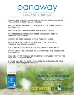 In pain? This one is definitely worth a try. Young Living Distributor #1764638 DianeOC@charter.net
