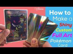 How to Make a CUSTOM Pokemon Card!! + FULL ART Ash-Greninja EX - YouTube