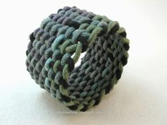 Knots and fiber bracelets