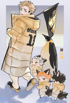 Haikyuu Manga, Haikyuu Karasuno, Haikyuu Funny, Haikyuu Fanart, Kagehina, Anime Chibi, Manga Anime, Fanarts Anime, Anime Characters