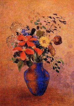 The Athenaeum - Vase of Flowers (Odilon Redon - )