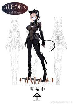 [AnchoreT] 신규 걸프라 프로젝트의 정식 명칭을 메카걸(MECHA GIRL)로 변경...관련 정보 공개 ~ 어바웃하비 Female Character Design, Character Design References, Character Design Inspiration, Comic Character, Character Concept, Girls Characters, Fantasy Characters, Female Characters, Anime Characters