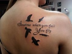This beautiful tattoo is a quote from Neil Gaiman's The Sandman, Vol. 6: Fables and Reflections.