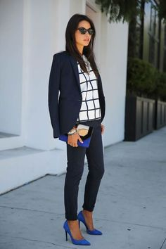 How to Make Any Suit Look More Feminine - DesignerzCentral