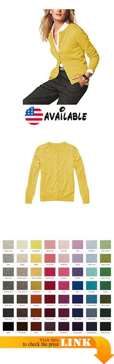 B00MFDWVGQ : Parisbonbon Women's 100% Cashmere Crew Neck Cardigan Color Yellow Size 4X. 2 Ply 100% Cashmere Button Closure Cardigan. Order Arrive(11-17 Business Days) = Order Porcessing Time(8-12 Business Days)  Shipping Time (3-5 Business Days). Worldwide Shipping Available.. Hand Washing or Dry-clean to ensure its Longevity.. Premium Grade Cashmere From Inner Mongolia #Apparel #SWEATER