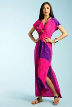 Reina dress in violeta by Trina Turk, $248.  via @Bitches Who