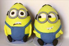 Eggstra special Minions  - Cake by Sarah - Estrele Cakes