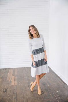 aa8978c9885 The Twenty One Grey Lies Midi Dress is such a fun and eye-catching piece