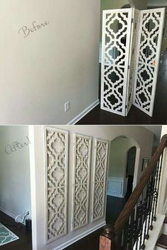 Room ider from Hobby Lobby large wall art easy cheap project & 76 Brilliant DIY Wall Art Ideas for Your Blank Walls | Pinterest ...