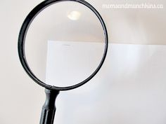 Mystery Party Ideas - Tiny Clue : Print off a message printed so tiny that you need to use a magnifying glass to read it.