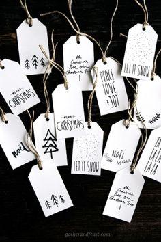 Christmas Gift Tags - WomansDay.com