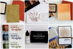 """VersaMark ink is a staple every stamper should have on hand. Discover 7 uses & techniques on how to use VersaMark. You'll """"clearly"""" be impressed!"""