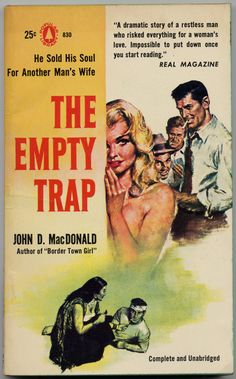 THE EMPTY TRAP | John D. MacDonald | First edition