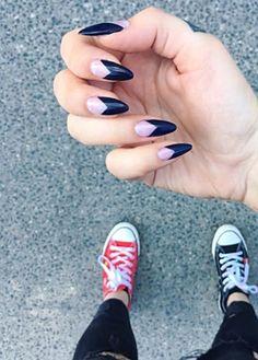 #black #red #nailsdesign #nails