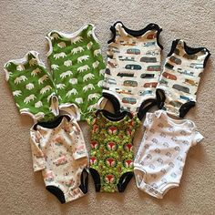 @mammacandoit posted to Instagram: WOW!! These are amazing!! If you haven't had a chance to snag your copy of the MammaCanDoIt onesie yet, make sure you grab it! 💙. . . #Repost @kristinmakesandgoes with @get_repostSeven onesies for two babies👶👶 It's that Easy Baby Clothes Patterns, Baby Patterns, Clothing Patterns, Onesie Pattern, Baby Pants Pattern, Second Baby, Baby Sewing, Onesies, Rompers