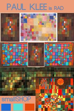paul klee...maybe in a collage form with all those paint chips from zero land fill nashville???