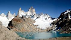 Laguna de los Tres and Fitz Roy Argentina  #landscape #laguna #tres #fitz #argentina