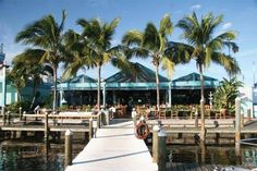 Parrot Key Caribbean Grill - Fort Myers Beach, Florida One of our favorite places to eat. Great view of the Marina!