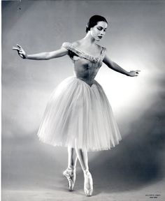 """Maria Tallchief was a Native-American ballet dancer and the first prima ballerina of the Paris Opera Ballet, City Ballet, Ballet Photos, Dance Photos, Ballet Pictures, Dance Pictures, Ballerine Vintage, La Bayadere, Vintage Ballet"