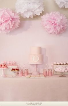 Silhouette party (pink).  probably even cuter in blue for a boy.. just sayin.