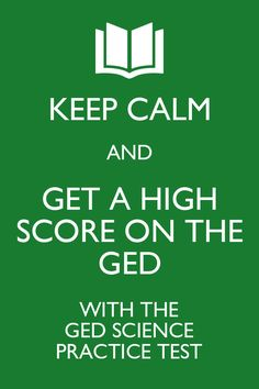 The GED Science practice test is specifically designed to ensure that the test-taker is knowledgeable about the GED Science test and is able to know what to expect when it is time to take the Science portion of the GED.