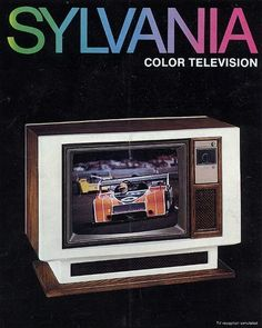 GTE-SYLVANIA Color Television with GT-Matic Tuning, 1977
