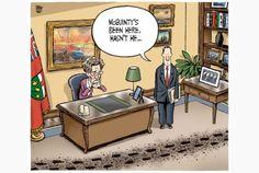Toronto Star editorial cartoon for May 8, 2013, by Theo Moudakis. #Wynne #politics #Canada #McGuinty