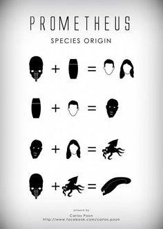Prometheus Species Origin - by Carlos Poon