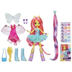My Little Pony Equestria Girls - Fluttershy Doll with Accessory           ($14.99)