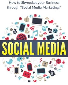 About Marketing, Startup, business: Social Media: How to Skyrocket Your Business Social Media Marketing Business, Facebook Marketing, Hashtag Generator, Money Book, Pinterest Marketing, Good Books, Thing 1, Youtube, Favorite Color