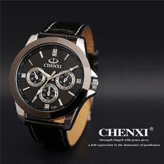 $30.99 (Buy here: https://alitems.com/g/1e8d114494ebda23ff8b16525dc3e8/?i=5&ulp=https%3A%2F%2Fwww.aliexpress.com%2Fitem%2F2016-New-Top-Brand-Luxury-Watches-Men-Quartz-Analog-Leather-Strap-Clock-Man-Sports-Watches-Relogios%2F32693611363.html ) 2016 New Top Brand Luxury Watches Men Quartz Analog Leather Strap Clock Man Sports Watches Relogios Masculino Reloj Hombre   for just $30.99