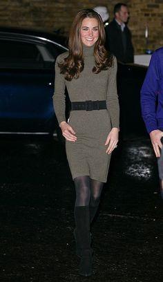 Kate Middleton en Ralph Lauren Collection.
