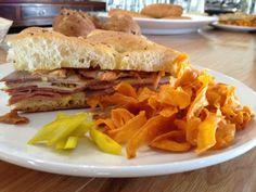 Salt & Time - Muffaletta Sandwich