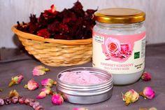 Tělové máslo s vůní růže | Žijeme homemade Candle Jars, Mason Jars, Candles, Homemade, Beauty, Home Made, Mason Jar, Candy, Candle Sticks