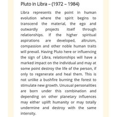 "Pluto in Libra '82 . Ha ""unusual personalities"".... Understatement #birthchart"