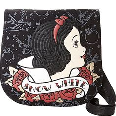 New Loungefly Snow White Tattoo Flash Print Crossbody online. Find the  great Fossil Handbags from top store. Sku alki96871etzw99790