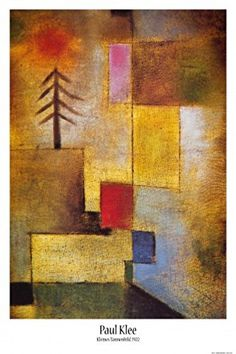 Posters: Paul Klee Poster - Small Picture Of Fir Trees, 1922 (36 x 24 inches): Amazon.ca: Home & Kitchen