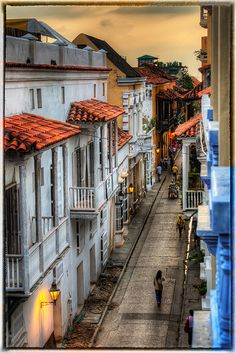 Cartagena, Colombia. UNESCO World Heritage