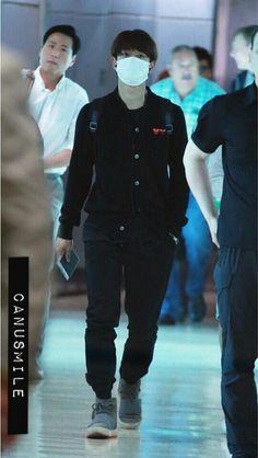 #MINHO en el aeropuerto Incheon rumbo a Taiwan.  (Junio/ 10/17)