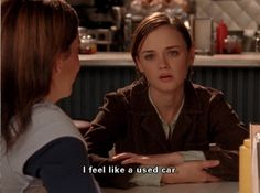 Rory Gilmore, ladies and gents