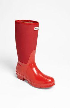 Hunter 'Arlen' Rain Boot (Nordstrom Exclusive) available at #Nordstromsweeps