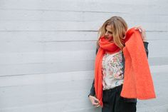 Julia shirt & Milla scarf by Lille Clothing