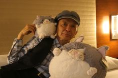 Everyone loves Squishies! Including James Hong, who's done voices for awesome stuff like Teen Titans, Kung Fu Panda, and Avatar: The Last Airbender, and appeared in more movies and TV shows than we can list here! I bet those kittens are fans of action movies! #squishable #plush #fashion #kittens #jameshong