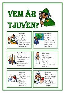 School Games, School S, Primary School, Teacher Education, Kids Education, Detective, Learn Swedish, Free Teaching Resources, Viria